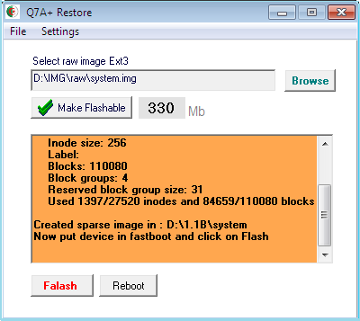 JQ7A@Flasher Update For DZGSM Users