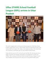 Uflex STAIRS School Football League (SSFL) arrives in Uttar Pradesh.pdf