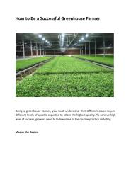 How to Be a Successful Greenhouse Farmer.pdf