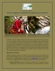 Pochi consigli per l'alpinismo da seguire per principianti.pdf