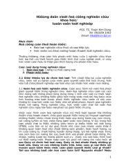 Huong dan viet de tai nghien cuu khoa hoc 2007_Tr Kim Dung.doc