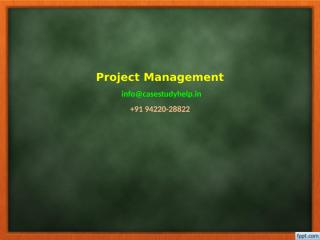 You have been assigned to a project risk team of 5 members.pptx