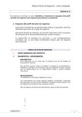 ESQUEMA DE PERFIL DE PLAN DE NEGOCIOS.doc