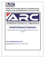 Global Pet Grooming Market.pdf