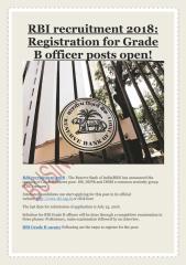 RBI recruitment 2018- Registration for Grade B officer posts open!.pdf