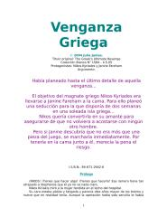 julia james - venganza griega.doc