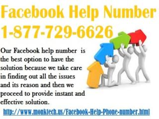 Get immediately help just on FacebookHelp Number 1-877-729-6626.pptx