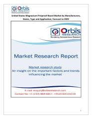 United States Magnesium Fireproof Board Market by Manufacturers, States, Type and Application, Forecast to 2022.pdf