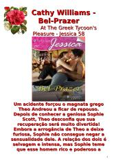 Magnatas Gregos 40 - Cathy Williams - Bel-Prazer (At The Greek Tycoon's Pleasure) - msg10.doc