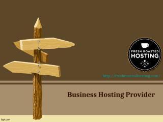 Business Hosting Provider.ppt