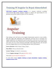 Training Of Angular In Bopal-Ahmedabad.doc